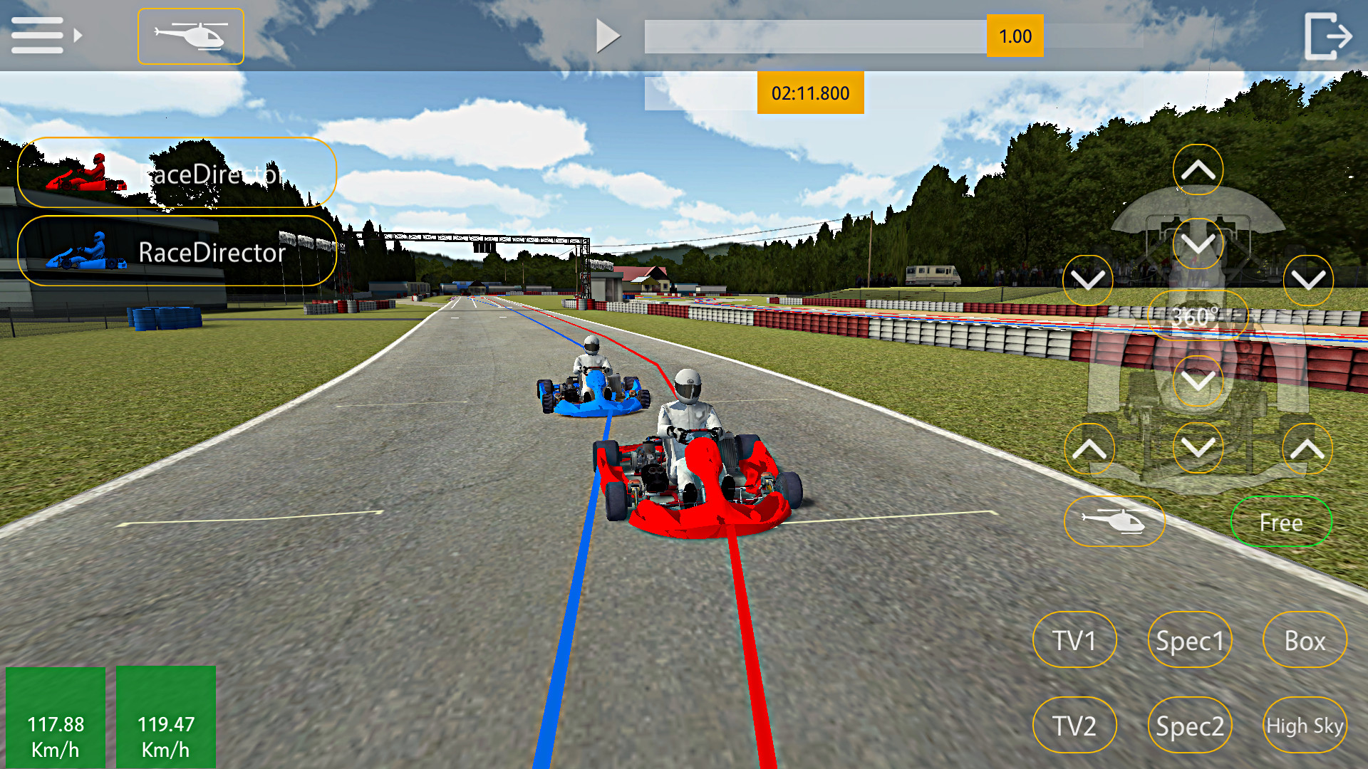 Race Director Screenshot